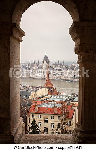 Budapest parliament - csp55213931