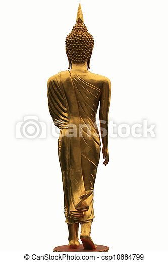 Buddha on the back - csp10884799