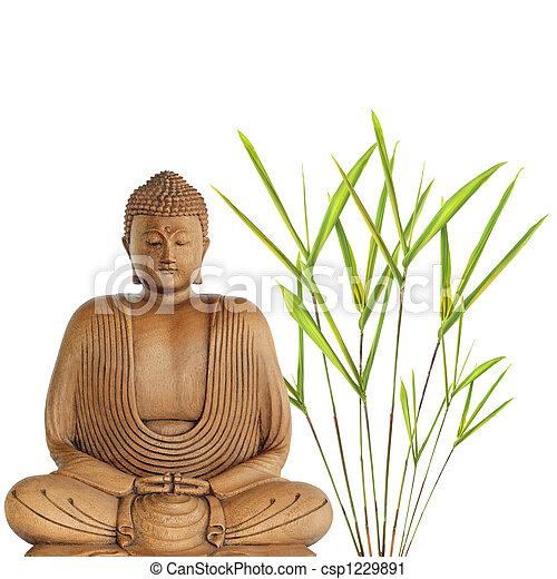 Buddha Peace - csp1229891