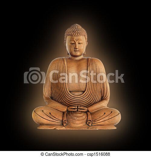 Silencioso Buddha - csp1516088