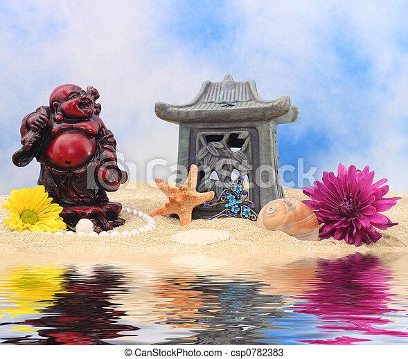 Buddha Still Life - csp0782383