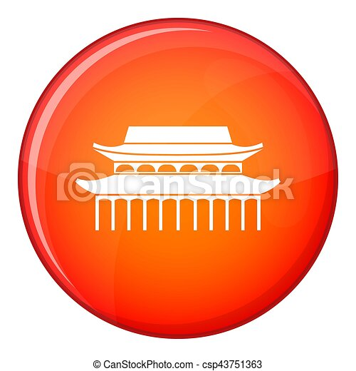 Buddha Toothe Relic Temple in Singapore icon - csp43751363
