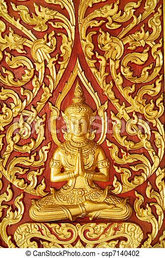 Buddhist artwork - csp7140402