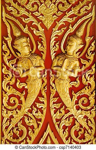Buddhist artwork - csp7140403