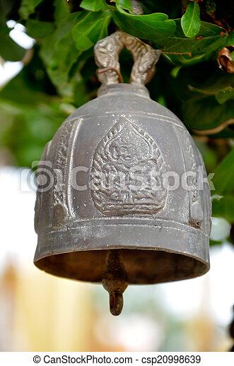 buddhist bell - csp20998639