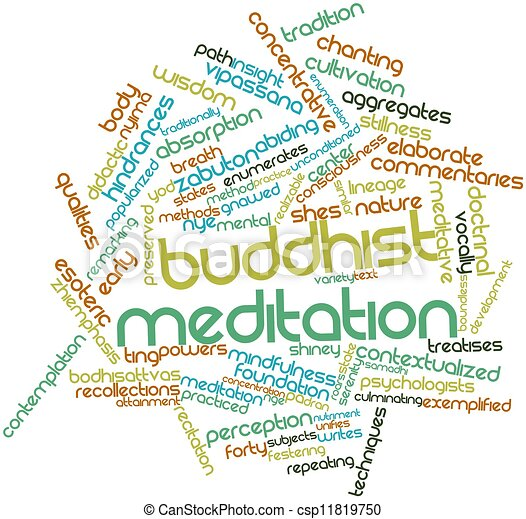 Buddhist meditation - csp11819750
