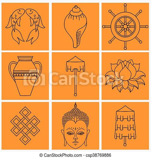 Buddhist Symbolism The 8 Auspicious Symbols Of Buddhism Right