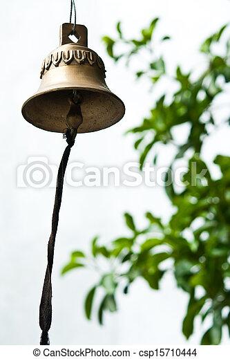Buddhist wishing bell, Thailand - csp15710444