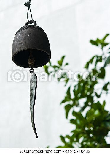 Buddhist wishing bell, Thailand - csp15710432