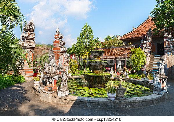 Buddist Monastry on Bali - csp13224218