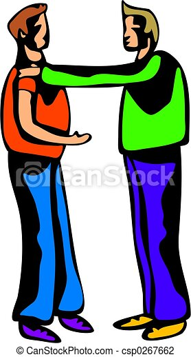 buddy talk two young men having a confidential conversation clip rh canstockphoto com don't talk clipart don't talk clipart