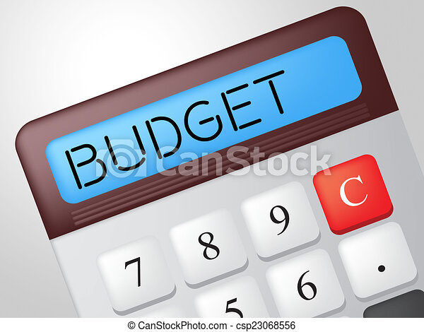 budget calculator means accounting calculation and buy budget