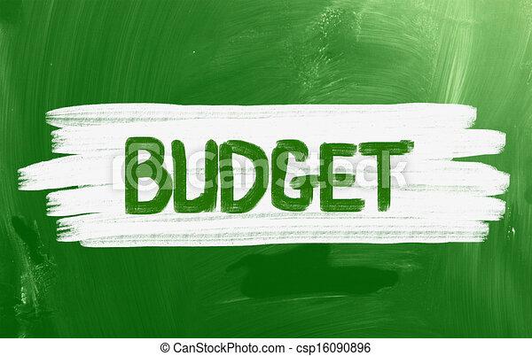 Budget Concept - csp16090896