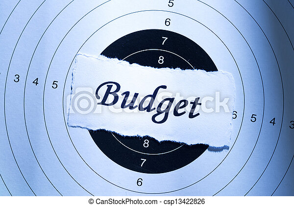 Budget concept - csp13422826
