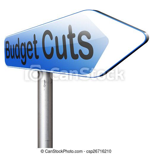 budget cuts - csp26716210