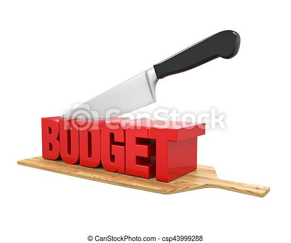 Budget Cuts Concept - csp43999288
