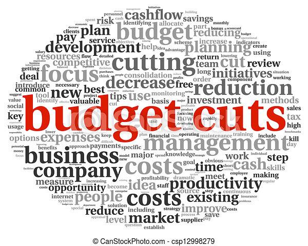 Budget cuts concept - csp12998279