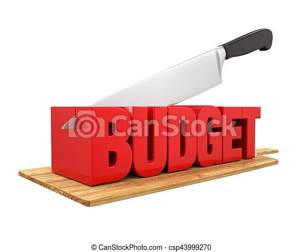 Budget Cuts Concept - csp43999270