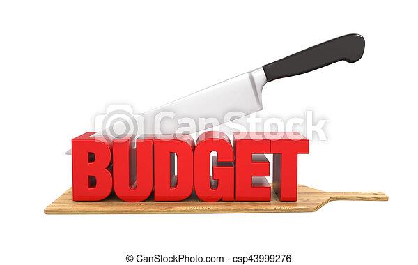 Budget Cuts Concept - csp43999276