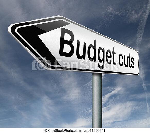 budget cuts - csp11890641