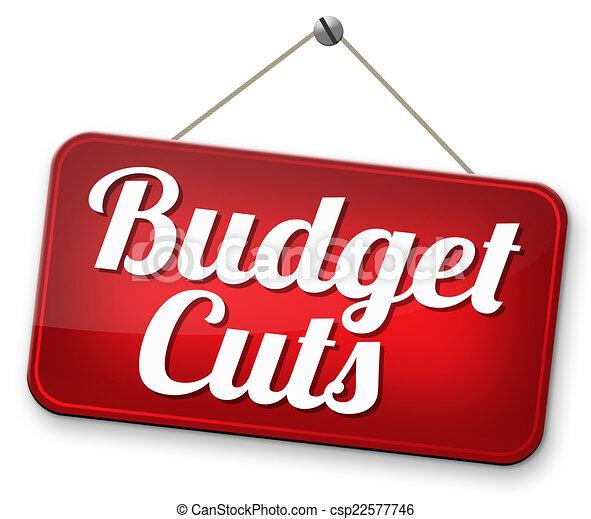 budget cuts - csp22577746