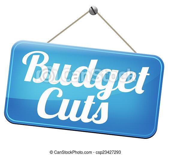 budget cuts - csp23427293