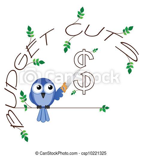 Budget cuts $  - csp10221325