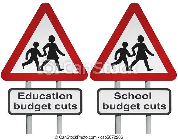 Budget cuts                       - csp5672206