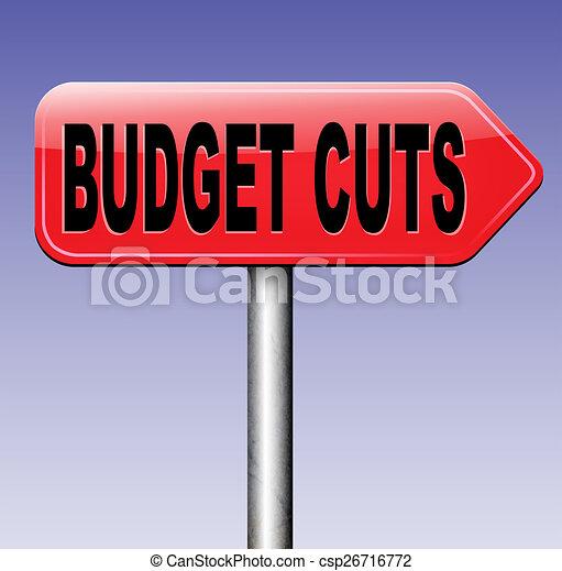 budget cuts - csp26716772
