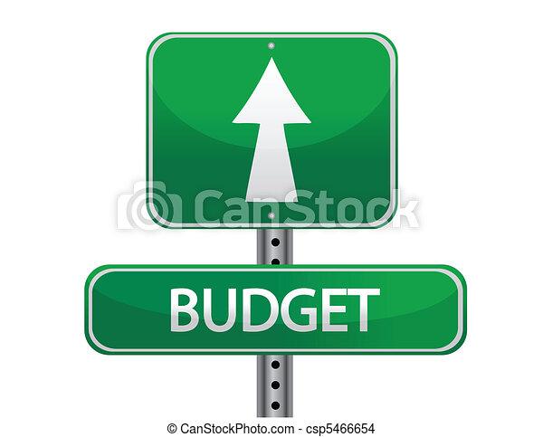Budget - csp5466654