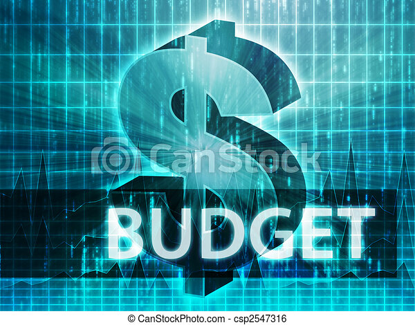 Budget Finance illustration - csp2547316