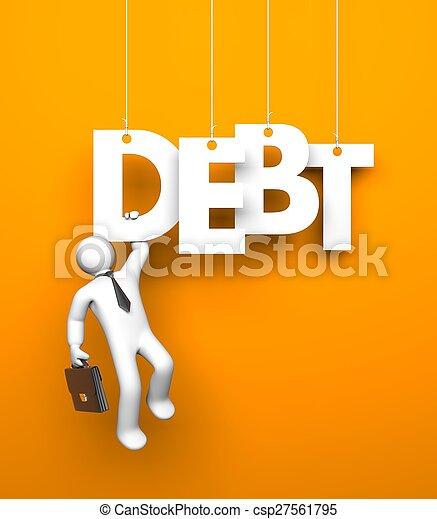 budget., metafoor, zakelijk - csp27561795