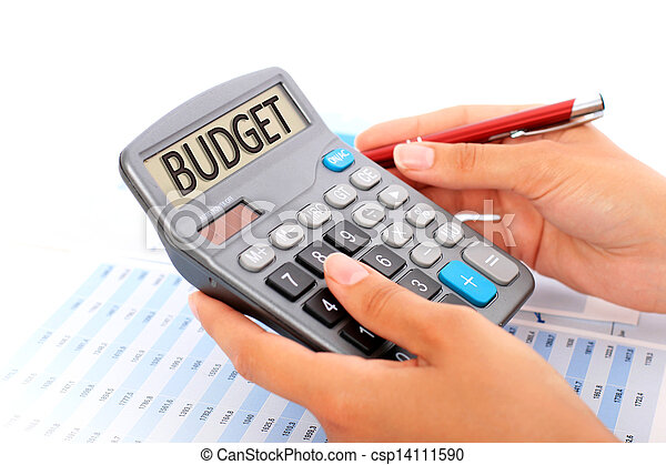 Budgeting concept. - csp14111590