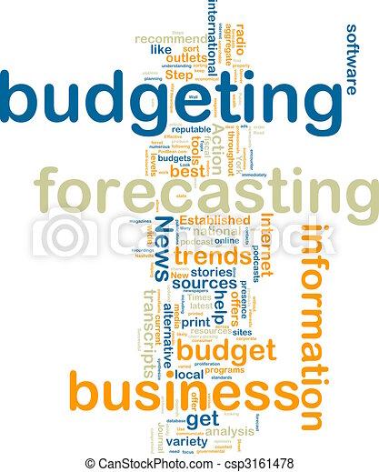 Budgeting wordcloud - csp3161478
