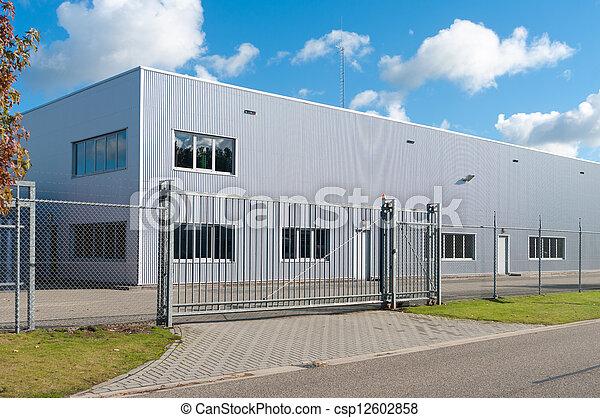 budova, průmyslový - csp12602858