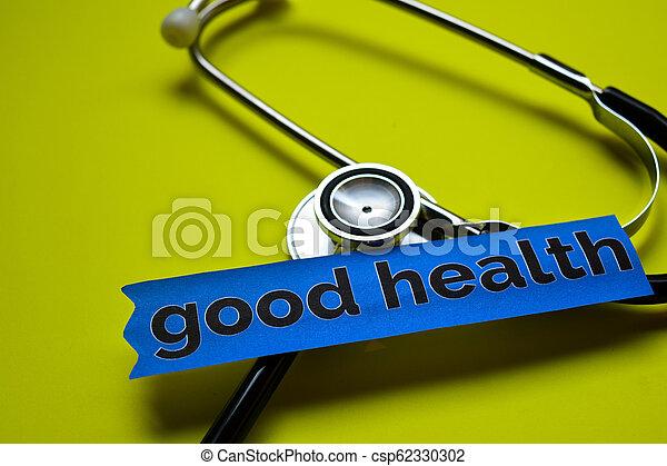 Buena salud - csp62330302
