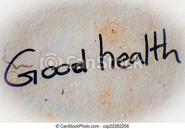 Buena salud - csp22262256