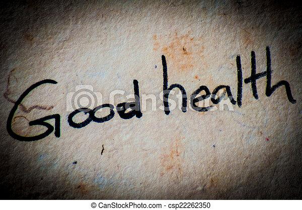 Buena salud - csp22262350