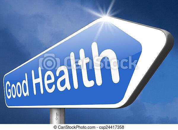 Buena salud - csp24417358