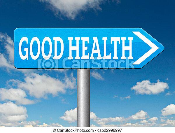 Buena salud - csp22996997