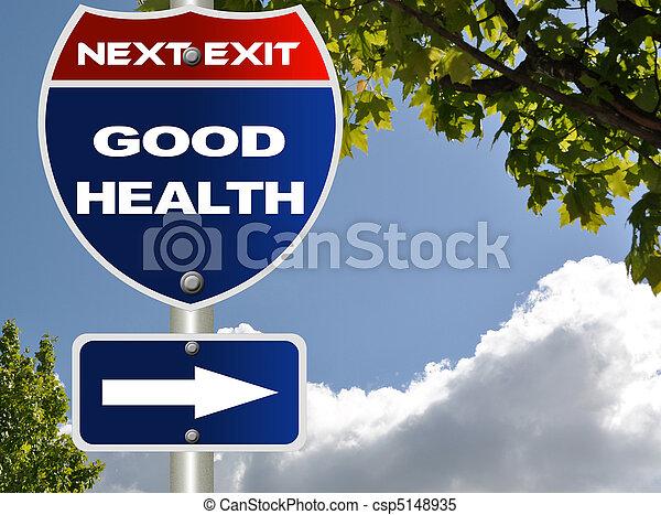 Buena señal de salud - csp5148935