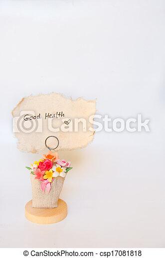 Buena salud - csp17081818