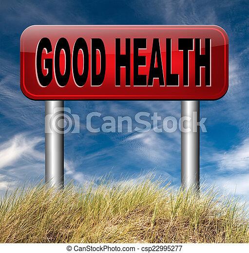 Buena salud - csp22995277