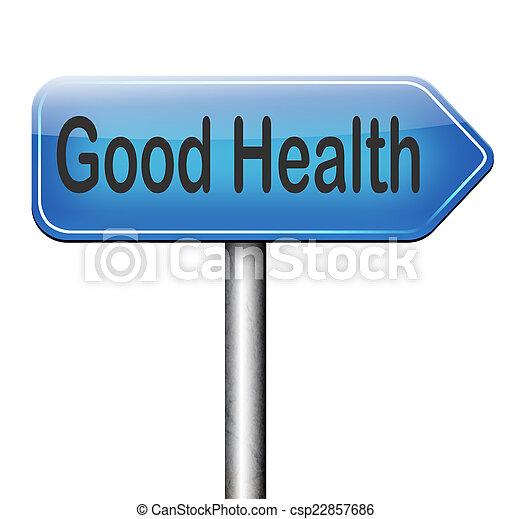 Buena salud - csp22857686