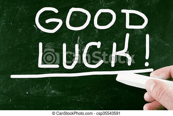 Buena suerte - csp35543591