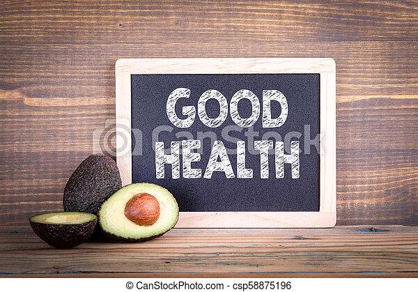 Buen concepto de salud - csp58875196