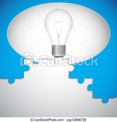 Buena idea - csp12896708