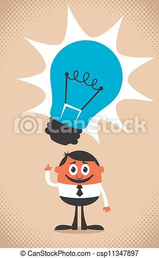 Buena idea - csp11347897