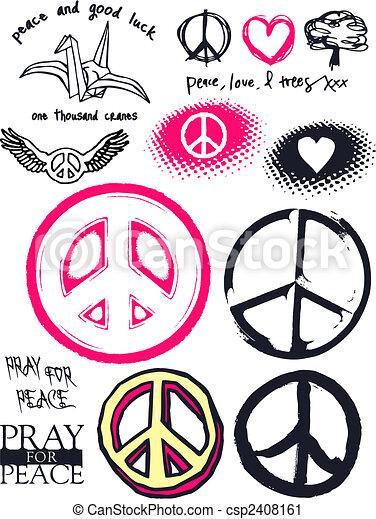 Paz y buena suerte - csp2408161