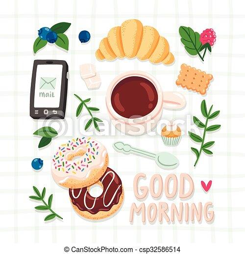 buenos días - csp32586514